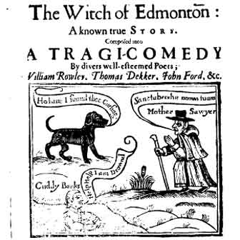 witch of edmonton title page